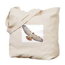 Cute Redtail hawk Tote Bag