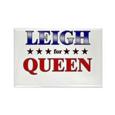 LEIGH for queen Rectangle Magnet