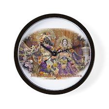 Radha Shyamasundara Wall Clock