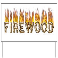 Firewood Yard Sign