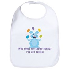 Easter Bunny? I've got Bubbie! Baby Bib