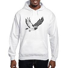 Hawk in Flight Hoodie