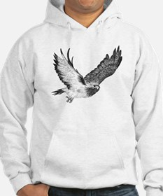 Hawk in Flight Hoodie