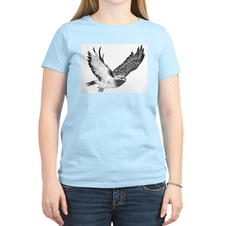 Hawk in Flight Women's Light T-Shirt