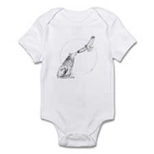 Wolf and Hawk Infant Bodysuit