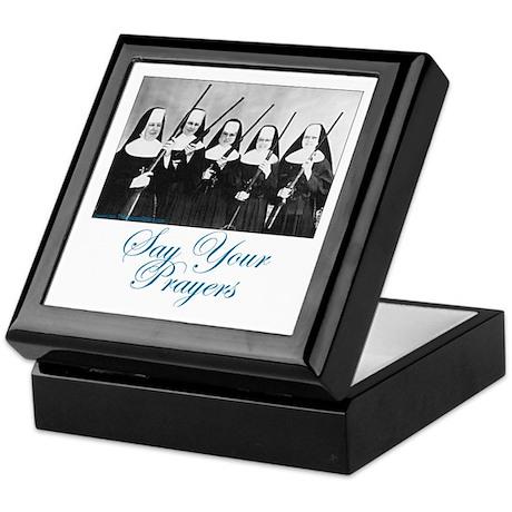 Say Your Prayers Keepsake Box