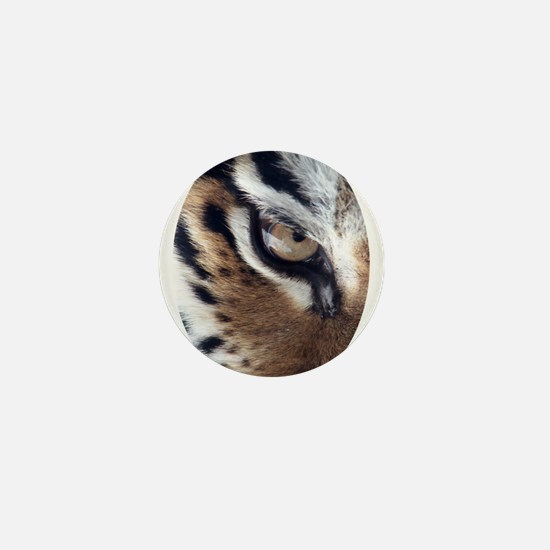 Tiger Eye Mini Button