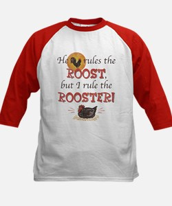 Rules The Rooster Kids Baseball Jersey