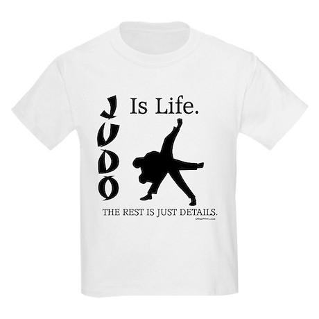 JUDO Is Life. Kids Light T-Shirt
