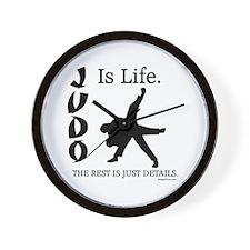 JUDO Is Life. Wall Clock