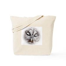 Cool Barred owl Tote Bag
