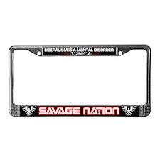 Michael Savage & Savage Nation License Plate Frame
