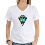 New Jersey Game Warden Women's V-Neck T-Shirt