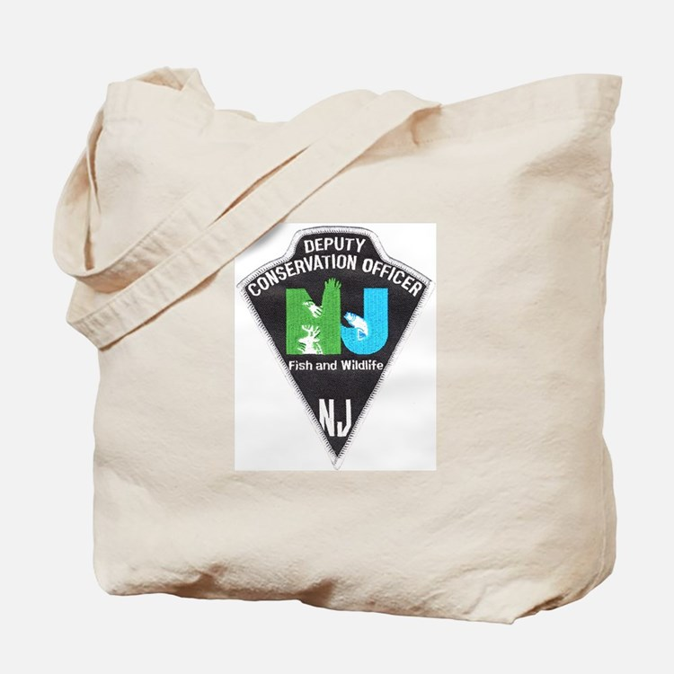 New Jersey Game Warden Tote Bag