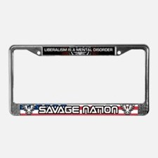 Patriot Savage Nation License Plate Frame