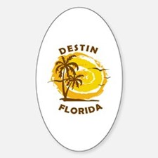 Unique Destin Sticker (Oval)
