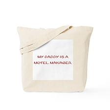Motel Manager Tote Bag