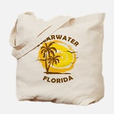 Cool Clearwater beach Tote Bag
