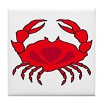 Boiled Crabs Tile Coaster