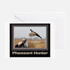 Pheasant Hunter Greeting Cards (Pk of 10)