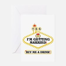 Yes: I Am Getting Married Greeting Card