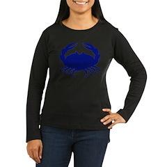 Boiled Crabs Women's Long Sleeve Dark T-Shirt