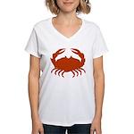 Boiled Crabs Women's V-Neck T-Shirt