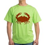 Boiled Crabs Green T-Shirt