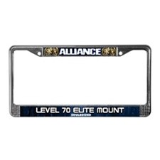 World of Warcraft ALLIANCE License Plate Frame