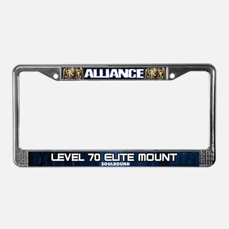 World of Warcraft ALLIANCE License Plate Frame