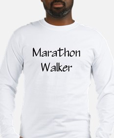 marathon walker Long Sleeve T-Shirt