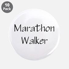 "Cute Half marathon 3.5"" Button (10 pack)"