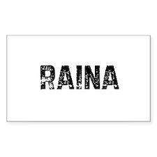 Raina Rectangle Decal