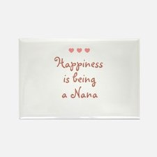 Happiness is being a Nana Rectangle Magnet (10 pac
