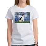 Lilies / Rat Terrier Women's T-Shirt