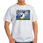 Lilies / Rat Terrier Light T-Shirt