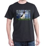 Lilies / Rat Terrier Dark T-Shirt