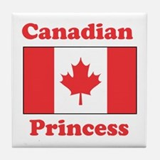 Canadian Princess Tile Coaster