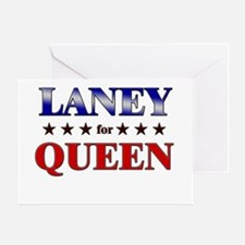 LANEY for queen Greeting Card