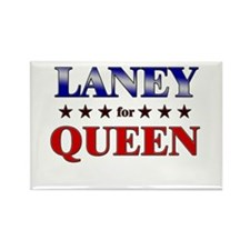 LANEY for queen Rectangle Magnet