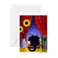 CatArt Blank Greeting Card