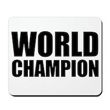 World Champion Mousepad
