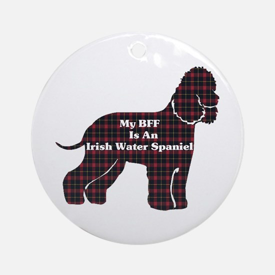 Irish Water Spaniel Ornament (Round)