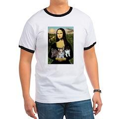 Mona Lisa/Pomeranians T