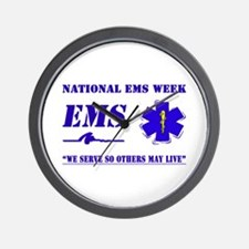 National EMS Week Gifts Wall Clock