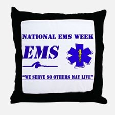 National EMS Week Gifts Throw Pillow