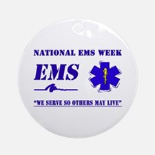 National EMS Week Gifts Ornament (Round)