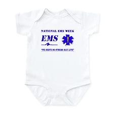 National EMS Week Gifts Infant Bodysuit