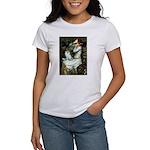 Ophelia / Pomeranian (p) Women's T-Shirt