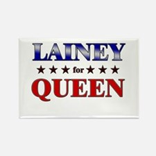 LAINEY for queen Rectangle Magnet